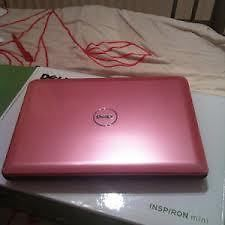 Pink Dell Inspiron Mini laptop 10.1