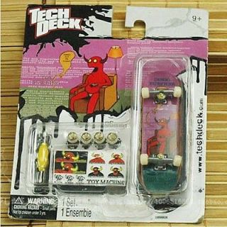 New Tech Deck Finger Skate Boarding Mini Skateboard 96x25x13mm for