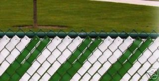 PRIVACY WEAVE FOR CHAIN LINK FENCE GREEN Privacy NEW
