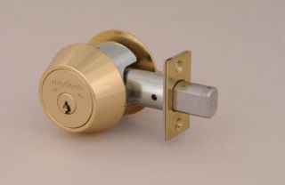 Medeco 11 C61 6 Pin Maxum Single Cylinder Deadbolt Lock