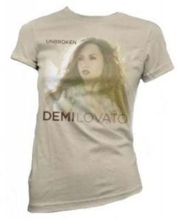 Demi Lovato Unbroken Graphic T Shirt From 2011 Album & Tour, Teen