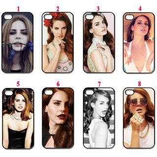 New Assorted Design lana del rey Fans black apple iphone 4 4s hard