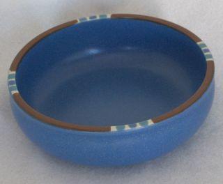 Dansk Mesa Denim Blue Coupe Bowl 5 7/8 Mint