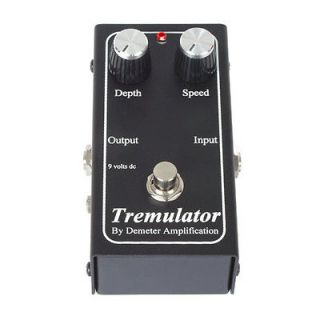 Demeter Tremulator Tremolo Electric Guitar Stomp box Effect Pedal
