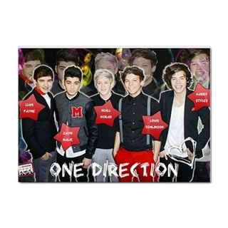 One Direction A4 size sticker   Book / Laptop / Car / Window / Wall