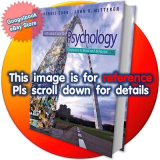 Introduction to Psychology (International Edition, as know as Gateways