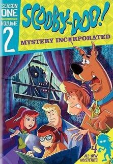SCOOBY DOO MYSTERY INCORPORATED SEASON ONE, VOL. 2   NEW DVD