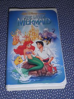 THE LITTLE MERMAID vhs RARE BANNED RECALLED Cover Art DISNEY Classic