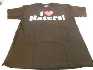 NEW MENS DGK MOTIVATION I LOVE HATERS BLACK T SHIRT TEE SKATE SURF