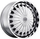 22 DAVIN REVOLVE SPINNERS Sham WHEEL SET 22x9.5 RIMS 5   6 Lug