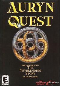 Auryn Quest: The Neverending Story PC CD explore fantasy worlds