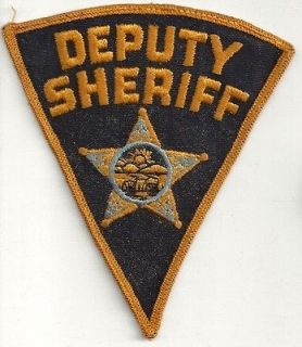 Ohio Deputy Sheriff old style patch