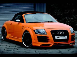 8N 98 06, R8 STYLE FRONT BUMPER, GRILL AND LIP BODY KIT 180HP 225HP