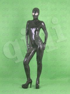 Latex (rubber) Mask Catsuit  0.8mm suit glove (zentai)