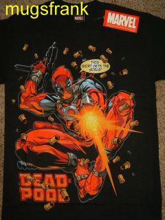 Nwt Deadpool X Men Gun Girl Getter Marvel Comics T Shirt
