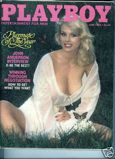 PLAYBOY JUNE 1980 DOROTHY STRATTEN