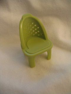 FISHER PRICE Sweet Streets SHOPPING TABLE GREEN CHAIR
