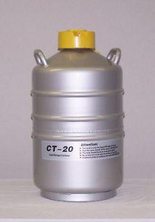 CT 20 CTCryogenics Liquid Nitrogen Semen Tank