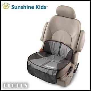 BRAND NEW IN BOX SUNSHINE KIDS SUPER MAT CAR SEAT PROTECTOR IN BLACK