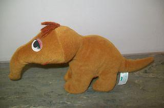 1997 Tyco Sesame Street Mr Snuffleupagus Bean Plush Doll 5 Tall