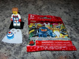 SEALED LEGO Series 7 minifigure DAREDEVIL 8831 stuntman evel knievel