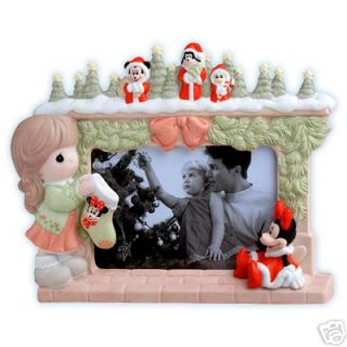 Precious Moments Minnie At The Mantel Photo Frame NIB
