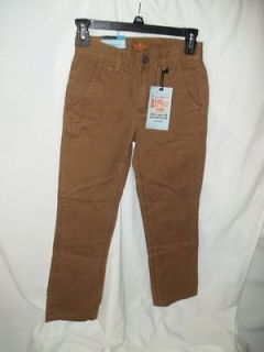 DOCKERS ALPHA KHAKI SIZE 8 YOUTH NWT BROWN