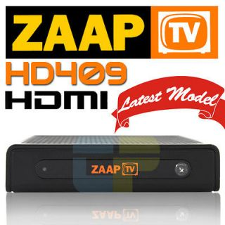 ZaapTV IPTV HD 409 Arabic Turkish Greek Channels Receiver Zaap TV w