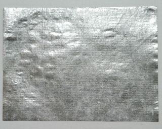 25 Sheets Silver Metallic Joss Paper 6 x 4 1/2 for Decoupage and