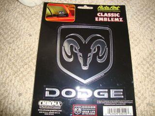 dodge ram stickers pick up 1500 2500 3500 van emblems decals