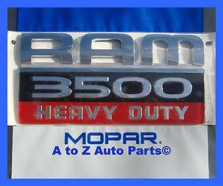 NEW 2007 2012 Dodge Ram 3500 HEAVY DUTY Door Emblem
