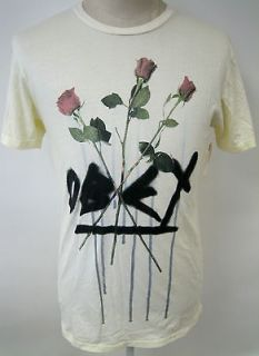 OBEY CLOTHING VICIOUS ROSE MENS TEE SHIRT SHEPARD FAIREY GRAFFITI ART