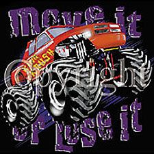 Dodge Ram Pickup Monster Truck Move It Or Lose It t shirt S XXXL ash