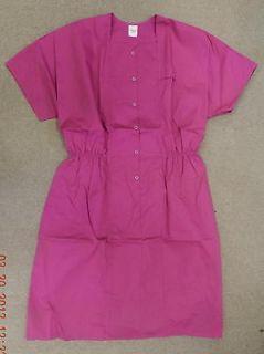 Premier Uniforms Medical Nurse Snap Front Scrub Dress Caribbean Blue