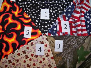 american flag bandana in Dog Supplies