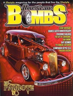 LOWRIDER MAGAZINE AMERICAN BOMBS #3 & IMPALAS LOWS SHOWS PICKEL POSTER
