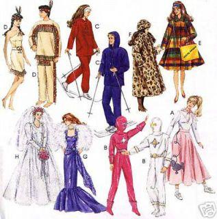 McCall 7932/639 1995 Barbie Doll Wardrobe Closet Pattern New or Cut
