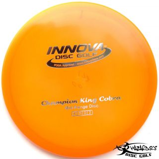 KING COBRA Stable Midrange 172g Innova Disc Golf Mid Range FAST