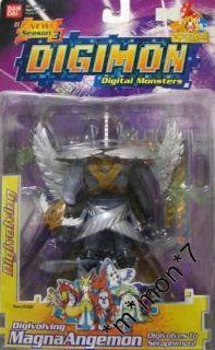 Bandai DIGIMON Magnaangemon DIGIVOLVING to Seraphimon Action Figure