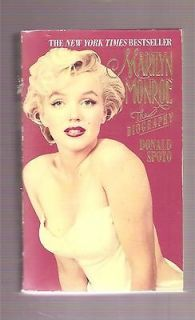 MARILYN MONROE *PB*  BIOGRAPHY~DONA LD SPOTO~1994~ (WITH PULL OUT BK