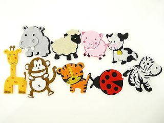 Baby Shower Nursery Decorations Embellishment Felt Eva Foam Safari