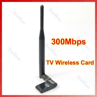 New USB2.0 HD TV WiFi Wireless LAN Card Adapter IEEE802.11n/g/ b
