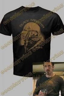 black sabbath iron man t shirt tony stark the avengers