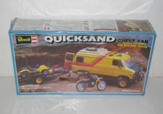 Quicksand Chevy Van Honda Odyssey Dirt Bike & Trailer SEALED NOS