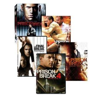 NEW Prison Break Complete Series & Final Break Movie Seasons 1 2 3 4 1