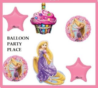 DISNEY PRINCESS RAPUNZEL tangled birthday party supplies BALLONS FIRST