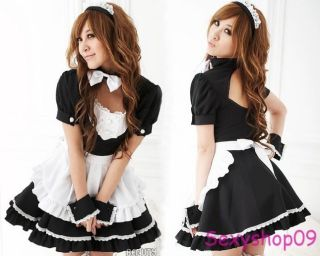 Sexy Alice Halloween Costumes French Maid Princess Cosplay Fancy Dress