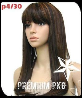 NEW NICKI MINAJ STRAIGHT W/ CHINESE BANG LACE FRONT WIG LOOK 4 LESS