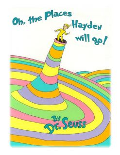 Dr. Seuss baby shower cake topper cake image sheet