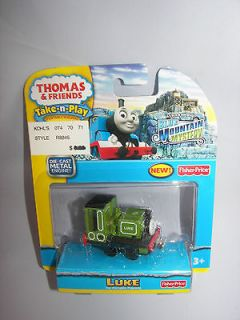 Thomas & Friends TAKE N PLAY LUKE from BLUE MOUNTAIN MYSTERY DIE CAST